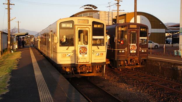 くま川鉄道 KT-503とKT-501