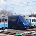 Photos: 伊豆急 8000系 TA-5と2100系 R-5と100形 103と2100系 R-3