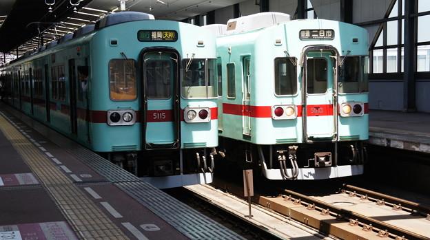 西鉄 5000形 5115Fと5033F