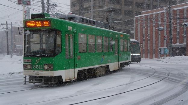 札幌市営 8500形 8511