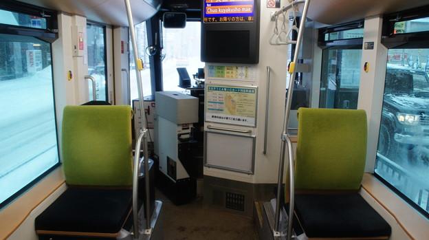 札幌市営 A1200形 車内