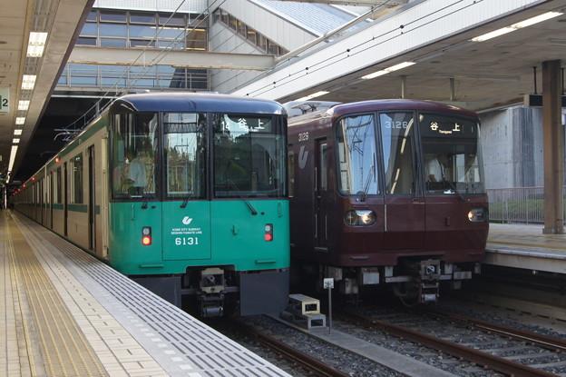 神戸市営 6000系 6131Fと3000系 31F