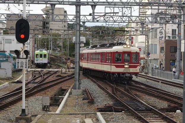 神戸電鉄 1100形 1107F