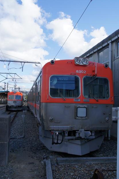 北陸鉄道 8000系 8802Fと8902F
