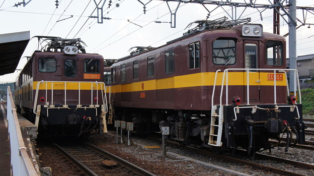 三岐鉄道 ED5081とED455
