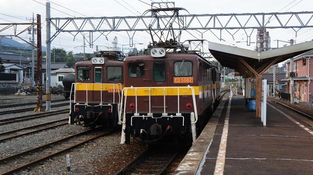 三岐鉄道 ED456とED5082