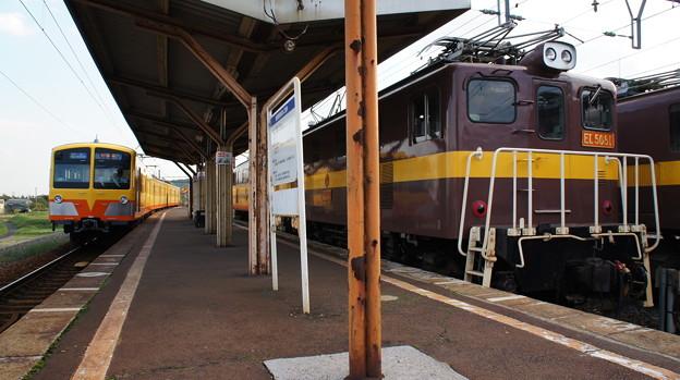三岐鉄道 851系 851FとED5081