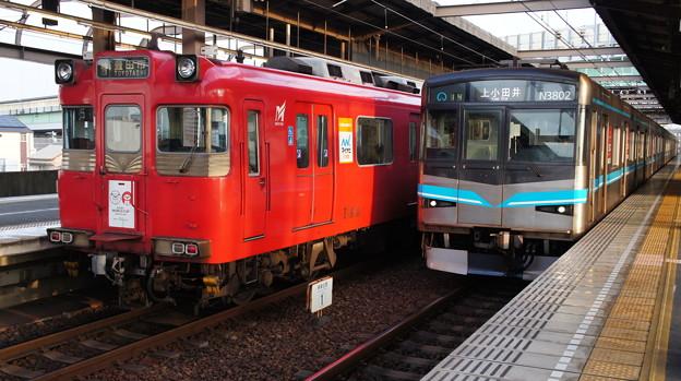 114Fと名古屋市営地下鉄 N3102H