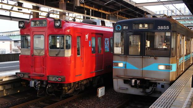 112Fと名古屋市営地下鉄 3155H