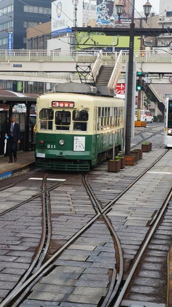 長崎電軌 211