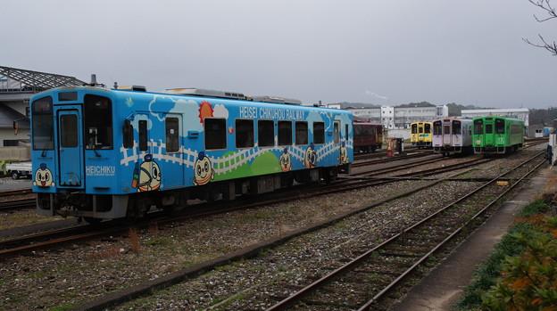 平成筑豊鉄道 408と410と411