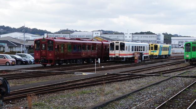 平成筑豊鉄道 402と412と404と411