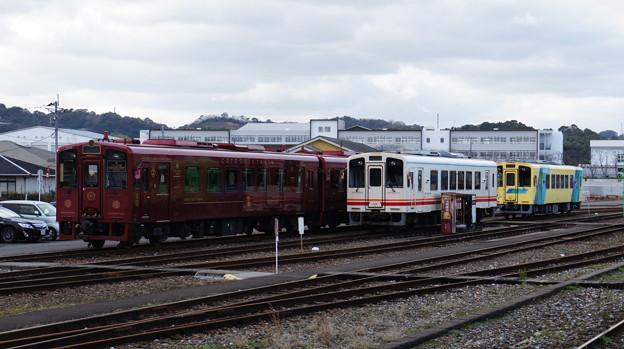 平成筑豊鉄道 402と412と404