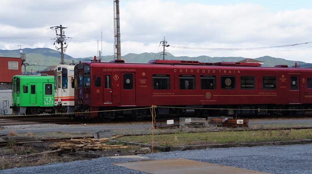 平成筑豊鉄道 411と412と401