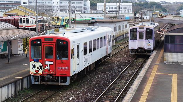 平成筑豊鉄道 407と410