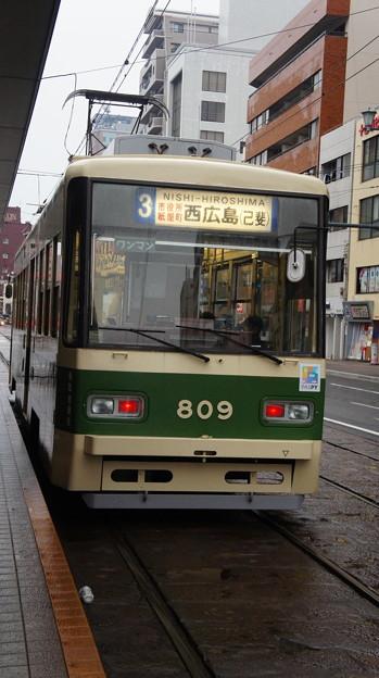 広島電鉄 809