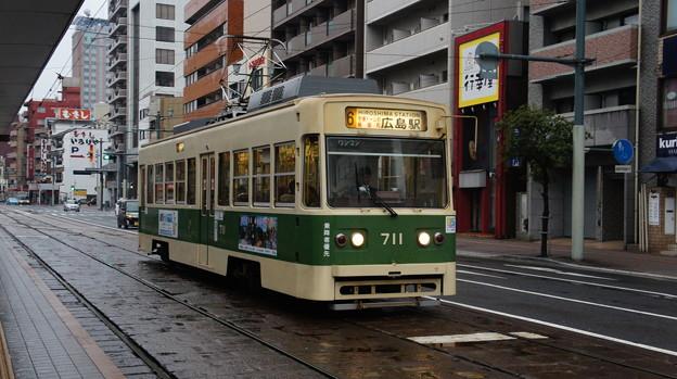 広島電鉄 711
