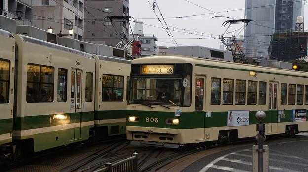 広島電鉄 806