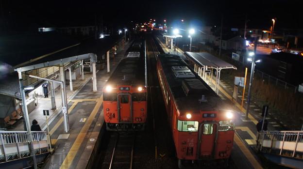 キハ47 3502とキハ40 2074