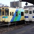 Photos: 平成筑豊鉄道 406とJR九州 キハ147 54