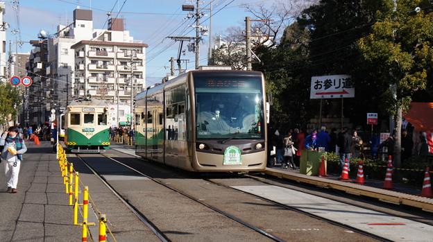阪堺電軌 166と1003