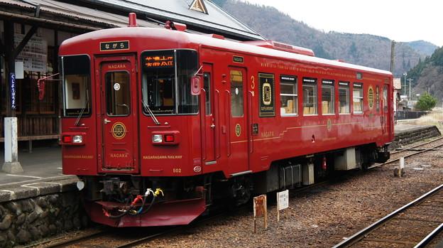長良川鉄道 ナガラ500形 502
