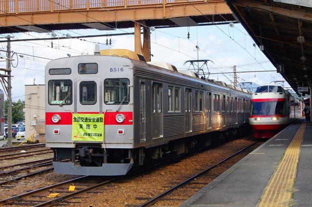 長野電鉄 8500系 T6と1000系 S2