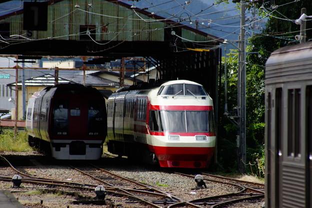 長野電鉄 2100系 E2と1000系 S1