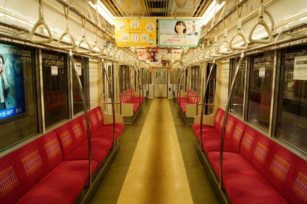 長野電鉄 3000系 M5 車内