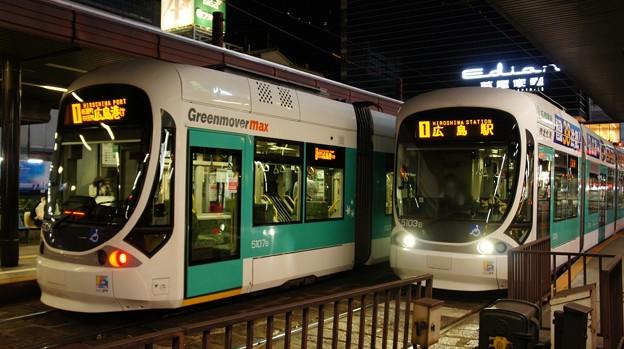 広島電鉄 5107と5103
