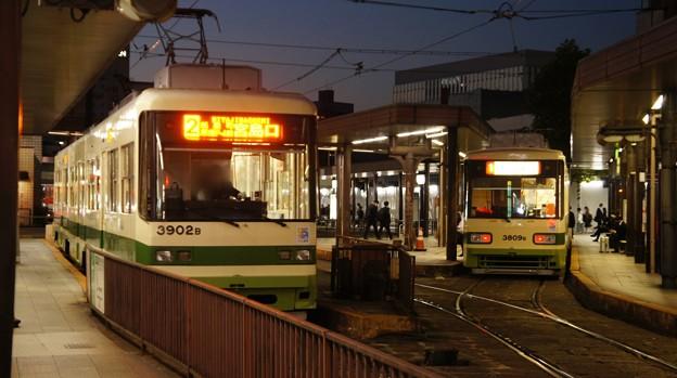 広島電鉄 3902と3809