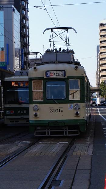 Photos: 広島電鉄 3101