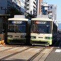 Photos: 広島電鉄 3808と3809