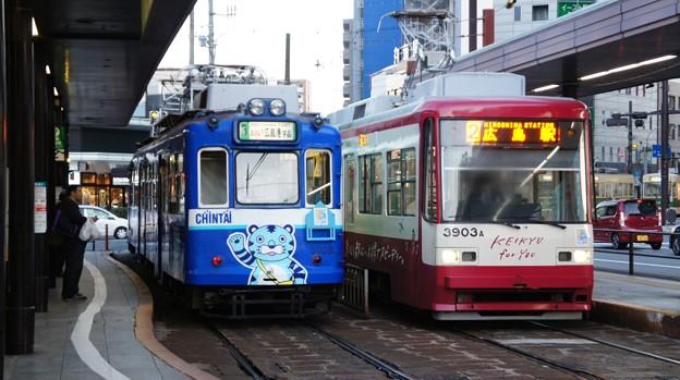 広島電鉄 3003と3903