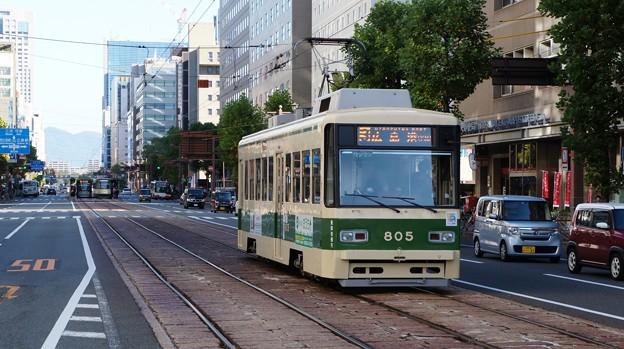 広島電鉄 805