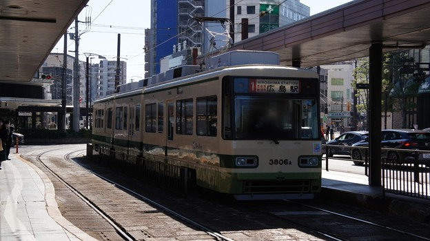 広島電鉄 3806