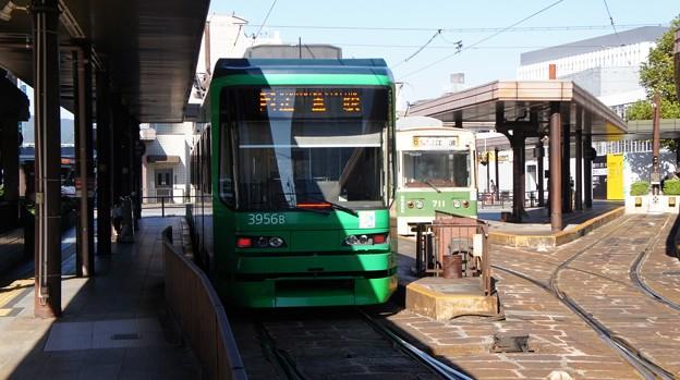 広島電鉄 3956と711