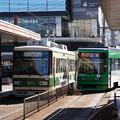 Photos: 広島電鉄 811と3956