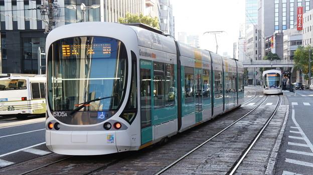 広島電鉄 5105