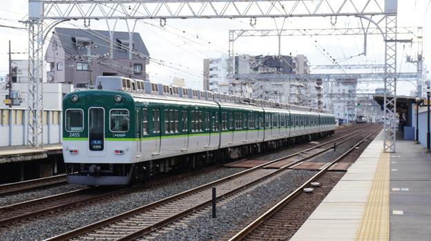 京阪2400系2455F