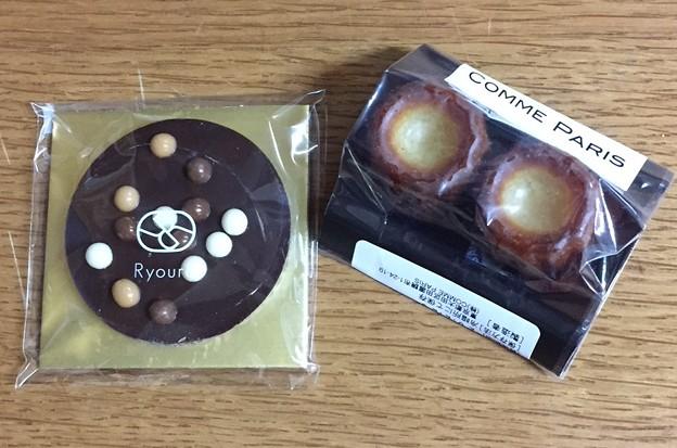 リョウラのチョコとコムパリのミニカヌレ