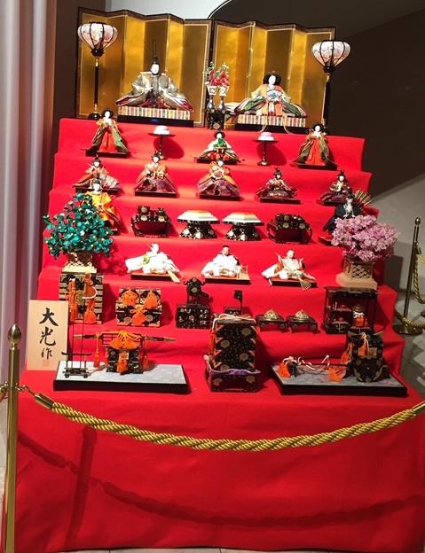 東京宝塚劇場の雛人形