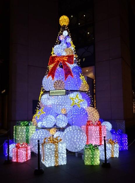 ペニンシュラのクリスマスツリー