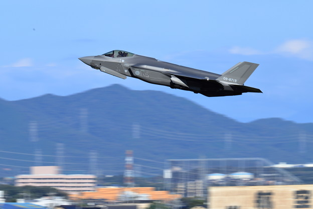 F35-19 3rd離陸-2