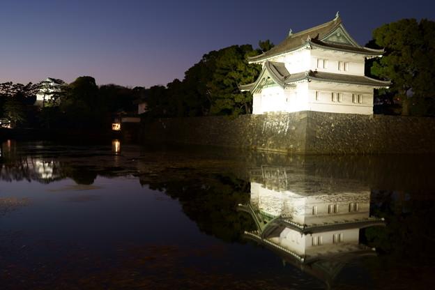 皇居・富士見櫓と巽櫓