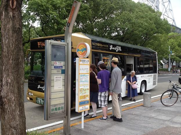 なごや観光ルートバス「メーグル」_11:『名古屋テレビ塔』停留所