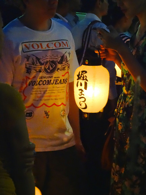 堀川まつり 2014 No - 161:『堀川まつり』と書かれた提灯