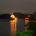 堀川まつり 2014 No - 170:内田橋から見た「まきわら船」の曳き廻し