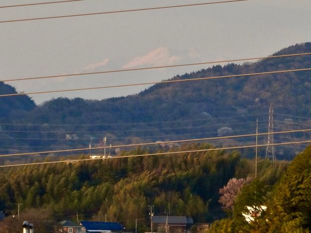 下原住宅から見えた(たぶん)御嶽山 - 2