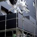 今月(2017年4月)末にオープン予定の万松寺納骨堂・白龍館「彩蓮」 - 2:龍の像